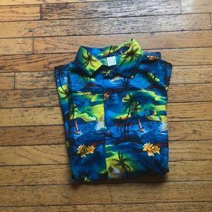 nens hawaiian short sleeve shirt